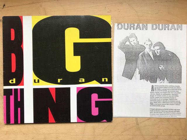 DURAN DURAN - Big Thing EP