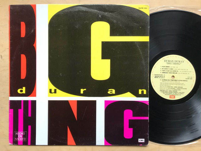 DURAN DURAN - Big Thing Single