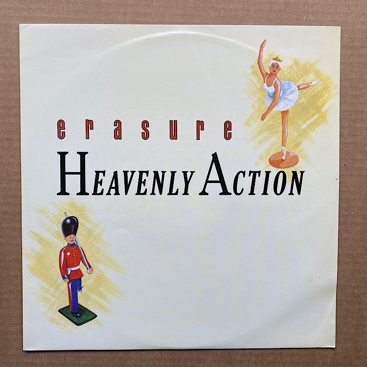 ERASURE - Heavenly Action EP