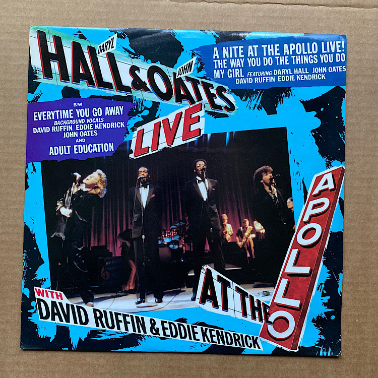 HALL + OATES - A NITE AT THE APOLLO LIVE