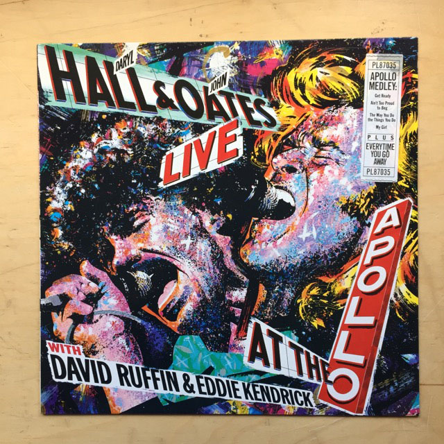 HALL + OATES - LIVE AT THE APOLLO