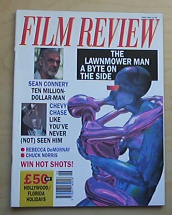 LAWNMOWER MAN - FILM REVIEW