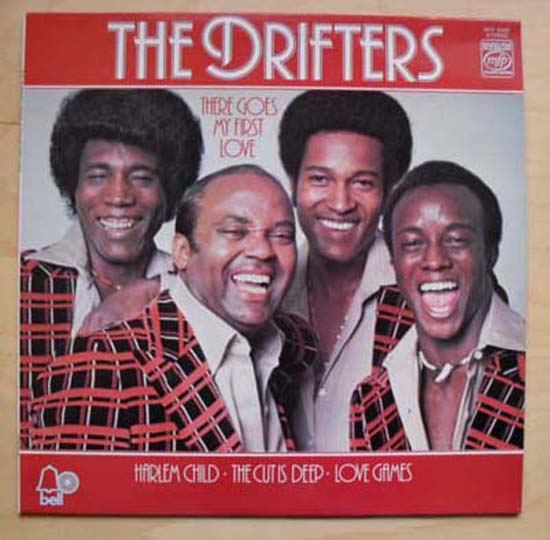 DRIFTERS - THERE GOES MY FIRST LOVE - 33T