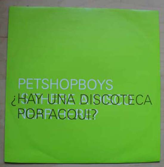 PET SHOP BOYS - Discoteca