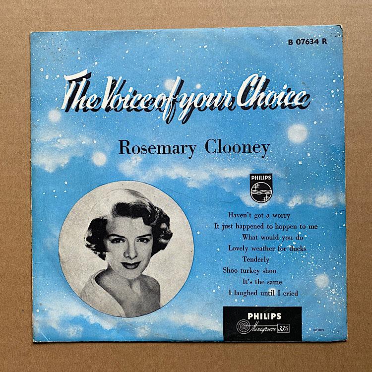 ROSEMARY CLOONEY - Voice Of Your Choice