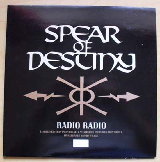 SPEAR OF DESTINY - Radio Radio Album
