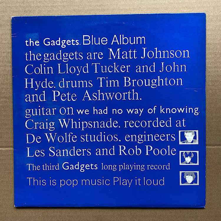 GADGETS - BLUE ALBUM