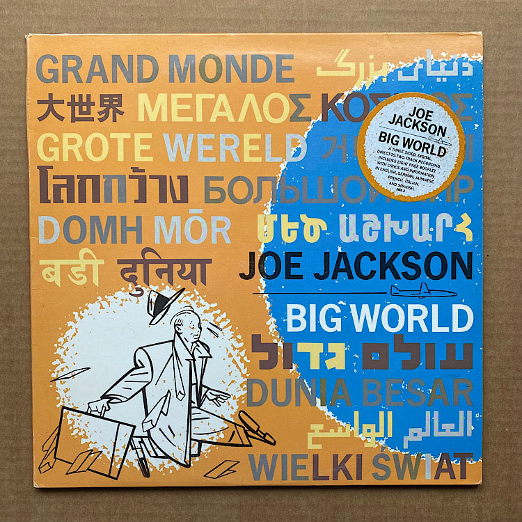 JOE JACKSON - Big World CD