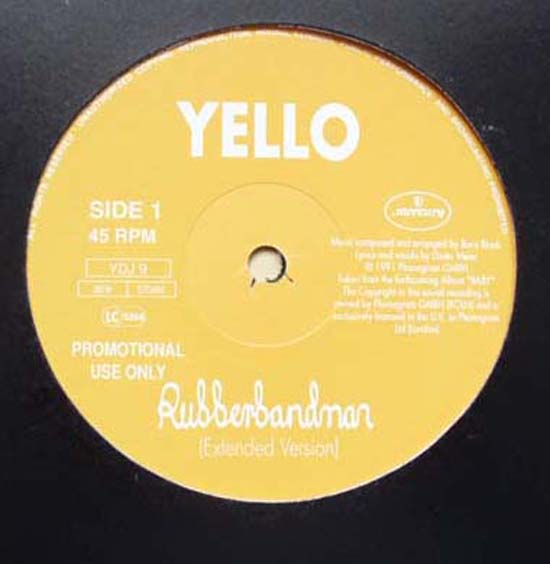 YELLO - RUBBERBANDMAN