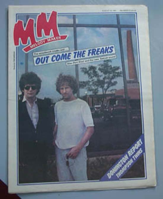 WAS NOT WAS - MELODY MAKER