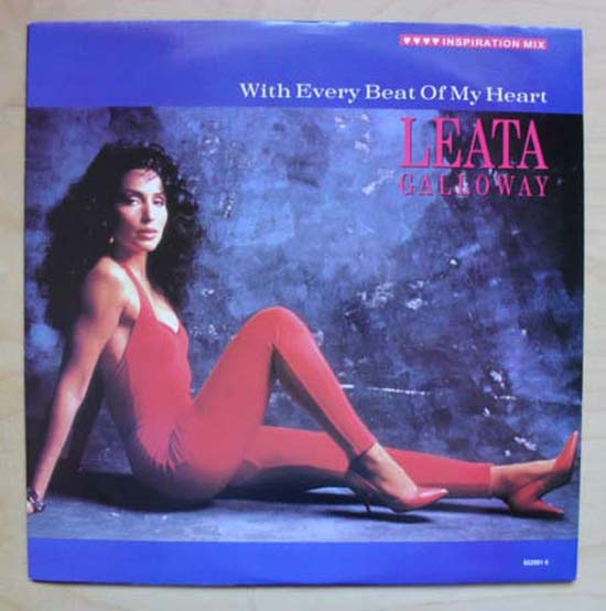 LEATA GALLOWAY - WITH EVERY BEAT OF MY HEART