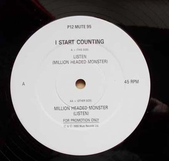 I START COUNTING - LISTEN