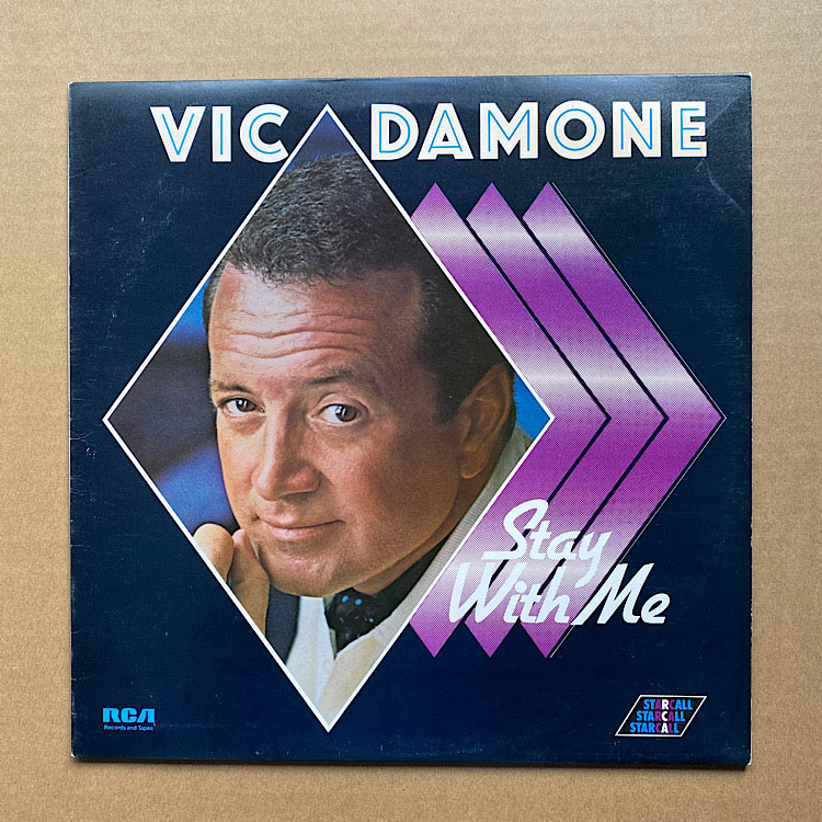 VIC DAMONE -  vinyl records and cds