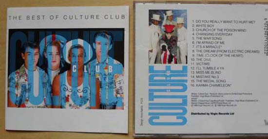 CULTURE CLUB - Best Of Culture Club Single