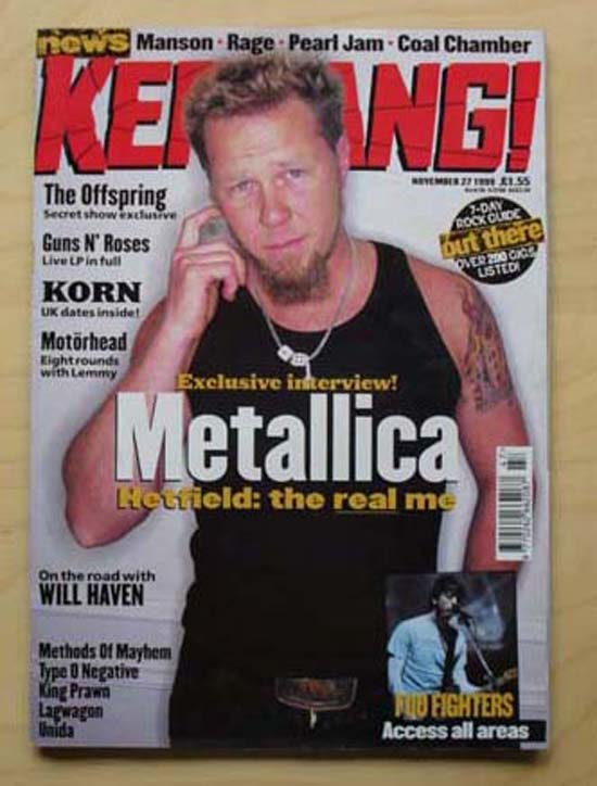 METALLICA - Kerrang No.778