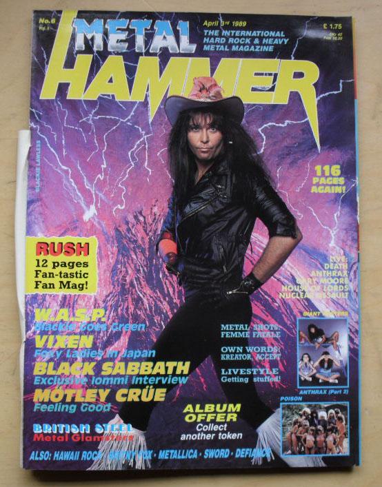 WASP - METAL HAMMER