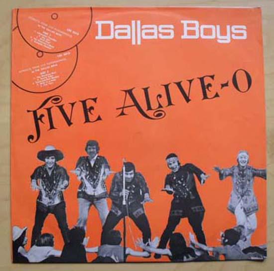 DALLAS BOYS - FIVE ALIVE-O