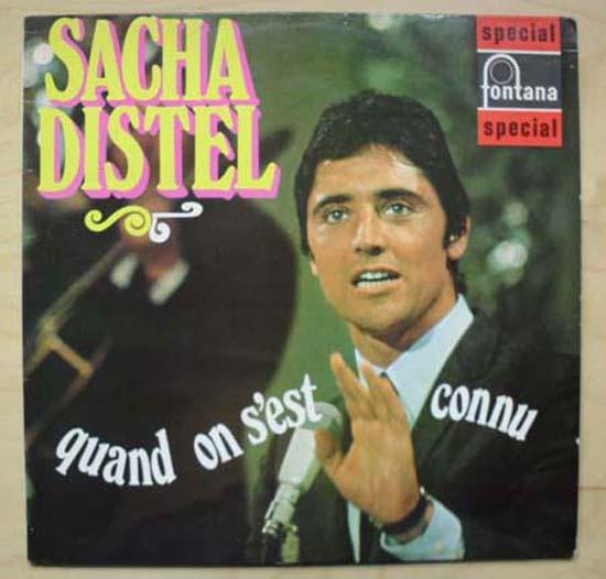 SACHA DISTEL - QUAND ON S'EST CONNU