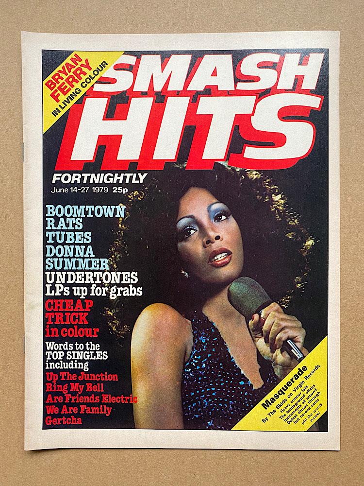 DONNA SUMMER - SMASH HITS - Magazine
