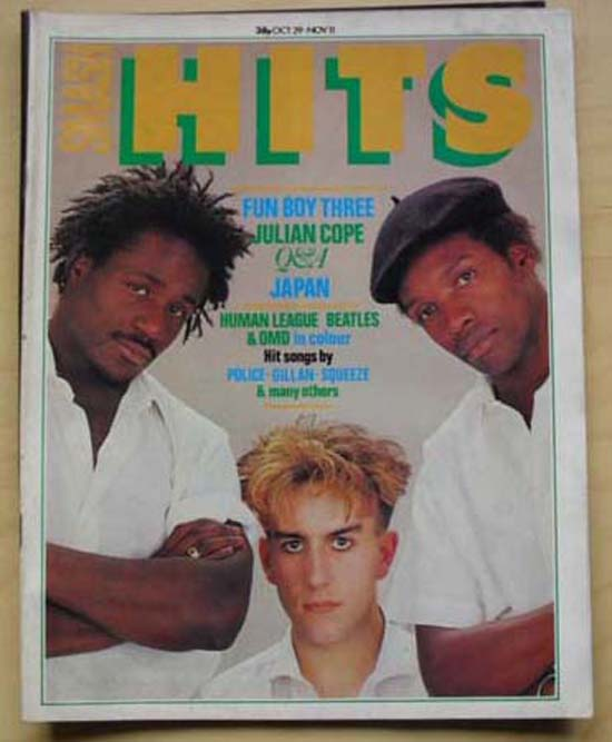 FUN BOY THREE - SMASH HITS