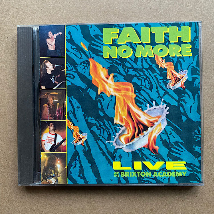 FAITH NO MORE - LIVE AT THE BRIXTON ACADEMY