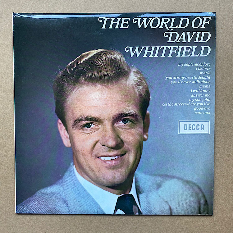 DAVID WHITFIELD - The World Of David Whitfield