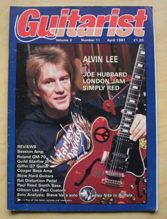 ALVIN LEE - GUITARIST - Magazine