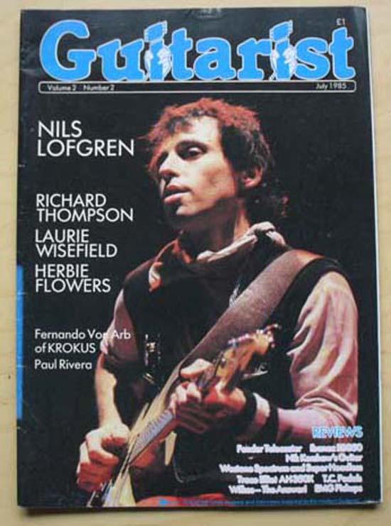 NILS LOFGREN - Guitarist