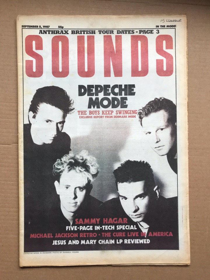 DEPECHE MODE - SOUNDS - Magazine