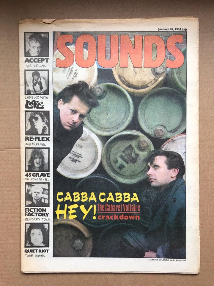 CABARET VOLTAIRE - SOUNDS