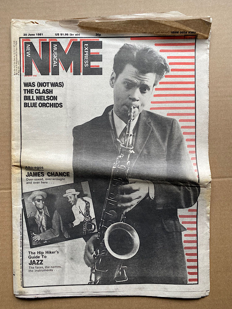 JAMES CHANCE - NME - Magazine