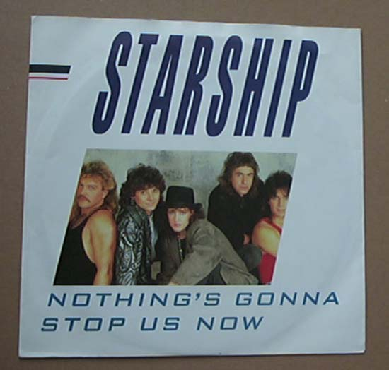 starship nothing s gonna stop us now vinyl records lp. Black Bedroom Furniture Sets. Home Design Ideas