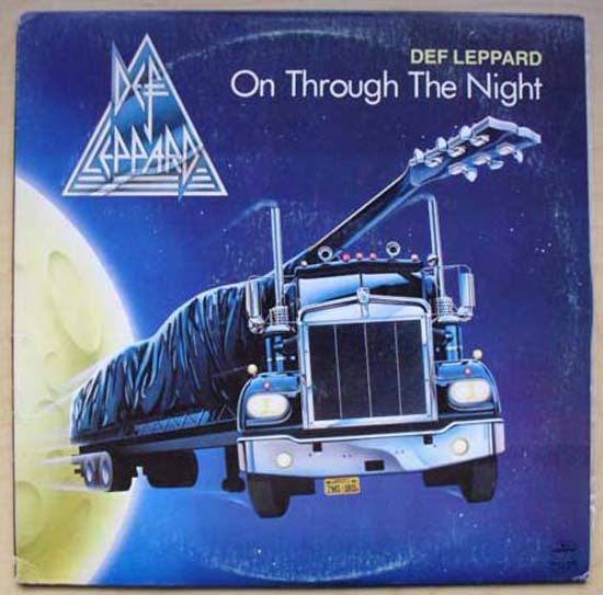 DEF LEPPARD - On Through The Night Vinyl