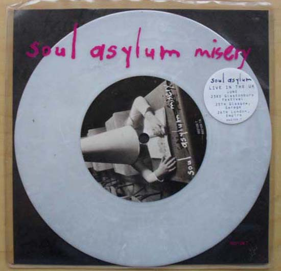 SOUL ASYLUM - Misery(white)