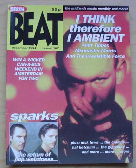 MIXMASTER MORRIS - BRUM BEAT - Magazine