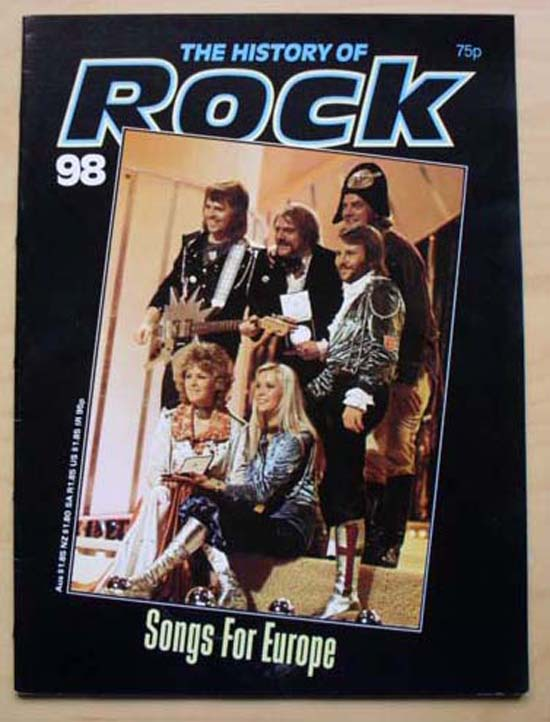 ABBA - HISTORY OF ROCK 98