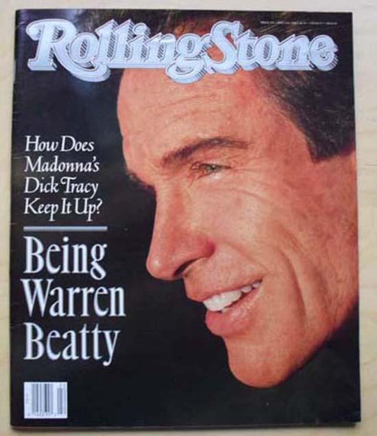 WARREN BEATTY - ROLLING STONE NO.579