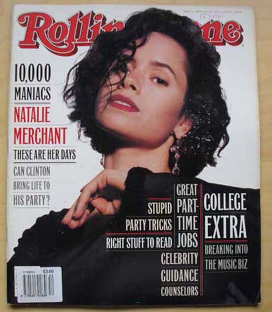 10,000 MANIACS - ROLLING STONE NO.652