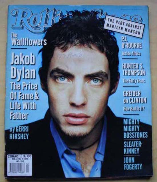 WALLFLOWERS - ROLLING STONE NO.762