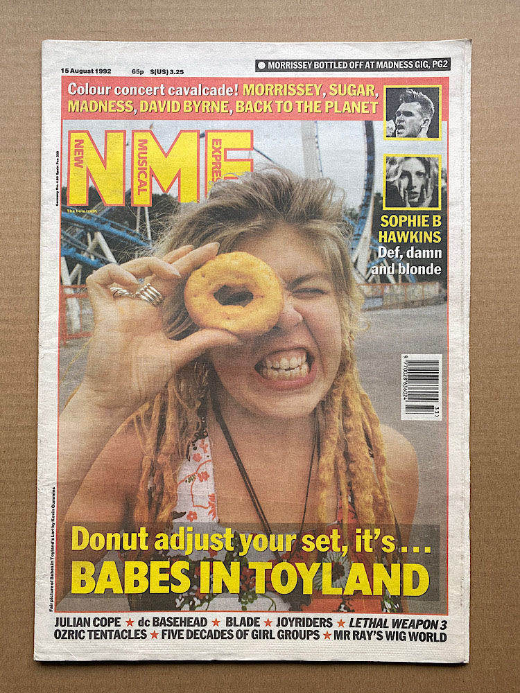 BABES IN TOYLAND - NME - Magazine