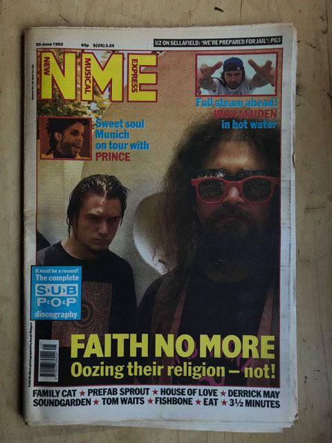 FAITH NO MORE - NME