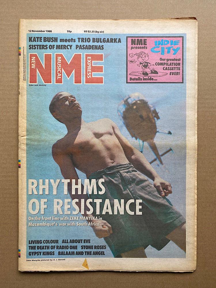 ZEKE MANYIKA - NME - Magazine