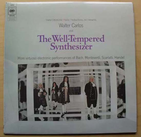 WALTER CARLOS - WELL-TEMPERED SYNTHESIZER