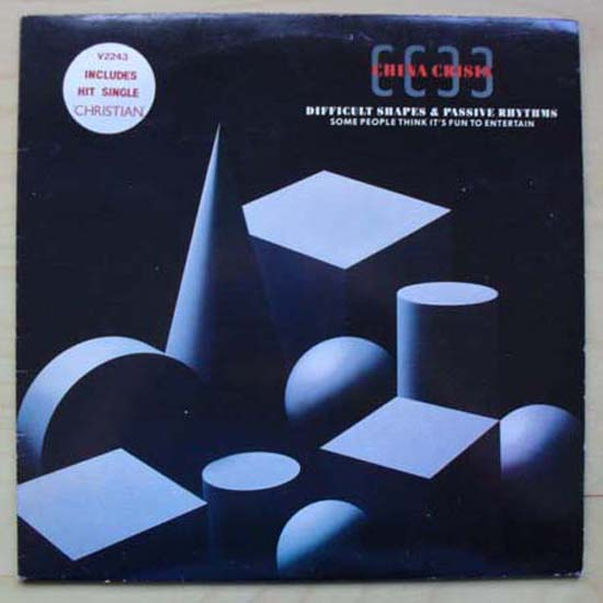 CHINA CRISIS - Difficult Shapes & Passive Rhythms Album
