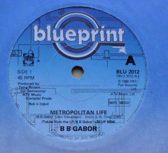B B GABOR - METROPOLITAN LIFE