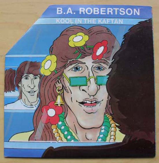 B.A. ROBERTSON - KOOL IN THE KAFTAN