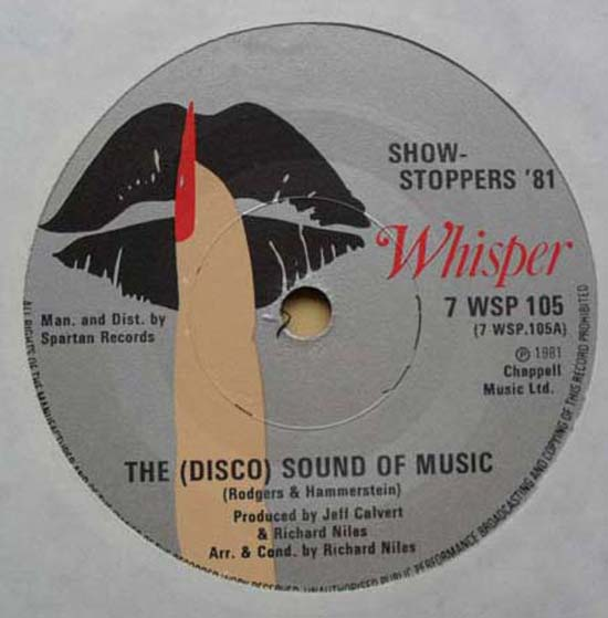 SHOW STOPPERS '81 - (DISCO) SOUND OF MUSIC - 7inch x 1