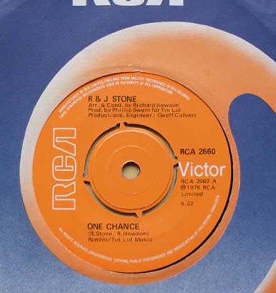 R & J STONE - ONE CHANCE