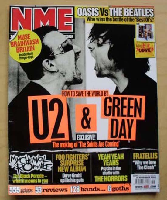 U2 / GREEN DAY - NME