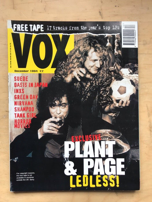 PAGE & PLANT - VOX